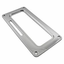 B&M 80820 Shifter Cover Plate Chrome Mega / Sport Auto Trans AT Shifter