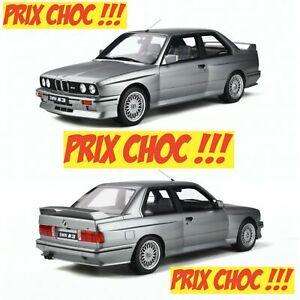 1/12 Ottomobile BMW M3 E30 Salmon Silver 1987 G052 Neuf Livraison Domicile.