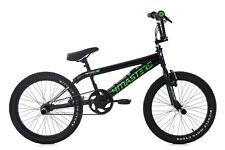 "BMX Freestyle 20"" Noir-vert 4Masters Vélo Neuf Rotor 360° KS Cycling 668B"
