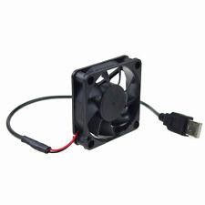 6CM DC 5V USB Cooling FanPC Computer Heatsink Fan 60x60x15mm  Quiet Slient