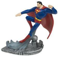 Figura Statua in RESINA 10cm SUPERMAN da JUSTICE LEAGUE Originale Monogram DC