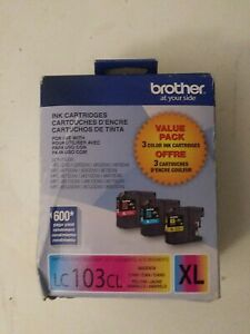 Brother LC103cl Xl Ink Cartridge - Value Pack