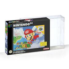 1 Klarsicht Schutzhüllen Nintendo 64 [1 x 0,3MM N64 OVP] Spiele Games
