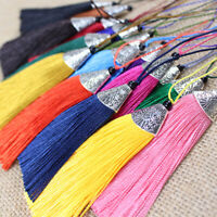 5Pcs 8cm Clothing Pendants Tassel Trim Keyring Jewelry Craft Clothes Car Hanging