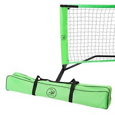 BullFrog Pickleball Set; Portable Pickleball Net with Frame, Padded Feet, Pickle