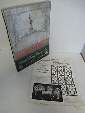 FAIRMONT FOUNDRY COMPANY Catalog of Stock Casting Designs & Ornamental Iron