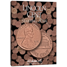 H.E. Harris Lincoln Cent Coin Folder 2014- Now #4002
