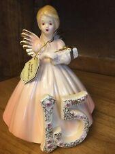 Joseph Original Birthday Angel Girl Porcelain Figurine Age 15 Years Old with Tag