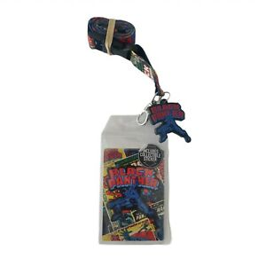 Marvel Comics Black Panther Lanyard With Break Away I D holder