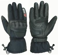 New Cordura Motorcycle Gloves Textile Leather Armour Protection Motorbike Racing