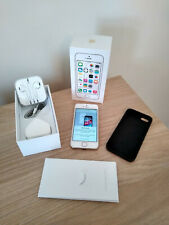 Apple iPhone 5s - 32GB - Gold (Unlocked) Box , Charger Cable , UK Plug and Case
