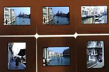 2 Boxes Vintage 35mm Photo Slides, Venice 1983, Great Quality Amateur Images