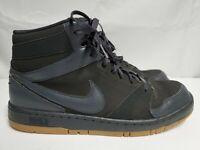 Nike Prestige IV High Black Grey Dark Blue 584614-099 Basketball Shoes Size 13
