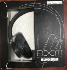 Boom Rogue Premium Over-Ear W/ In-Line Remote & Microphone Free Shipping!!!