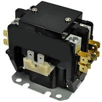 2 Pole Contactor 40 Amps 24VAC Coil 50/60HZ Air Conditioner AC HVAC Part C240A
