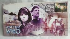 DR/DOCTOR WHO - THE INVASION - AUTOGRAPHED COMMERATIVE STAMP COVER