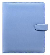 Filofax A5 Size Personal Organiser Diary - Saffiano Vista Blue 022586