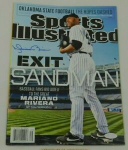 Mariano Rivera Signed Sports Illustrated Cover MLB HOF Yankees Steiner Cert