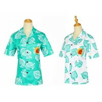 Animal Crossing T Shirt Tom Nook Cosplay Shirt Costume Summer Tee Tops Adult Kid