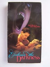 Embrace the Darkness VHS Video Erotic Vampire Thriller