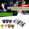 100Pcs Acoustic Electric Bass Guitar Picks Plectrums Various 6 thickness   U