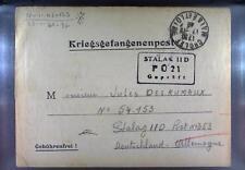 Camp Stalag IID Stargard 1940 POW Prisoner of War Kriegsgefangenenpost L21