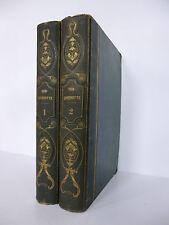 CERVANTES. Don Quichotte. Vignettes de Johannot. Dubochet 1836