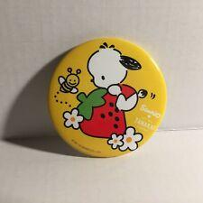 """Sanrio Tanaka Farms Strawberry Pochaco 2"""" Button"""