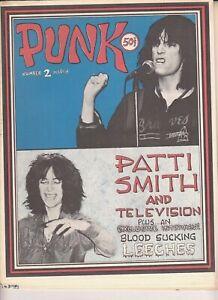PUNK magazine #2 1976 Patti Smith Television Talking Heads