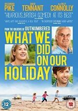 What We DID on Our Holiday DVD 2015 - 50p