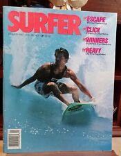 Surfer, Volume 28, Number 1, January 1987 - Winter Getaways, Fineman Portfolio