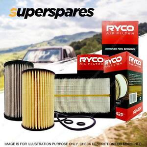 Ryco Oil Air Fuel Filter Service Kit for Volkswagen Tiguan Eos Cc Caddy