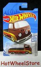 2019 Hot Wheels Volkswagen T2 Pickup Card #96 Hw26-031219