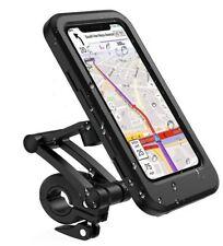 Fahrrad Motorrad Handy Halterung Halter Smartphone Wasserdicht bis 7,6 Zoll 360°