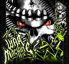 "YAMAHA 2004-2013 YFZ450 GRAPHICS WRAP DECALS ""WAR MACHINE"" FITS OEM PARTS ACID"