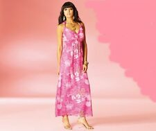 New MISS REAL Ladies MAXI Dress Pink summer sun look 10 next beach holiday