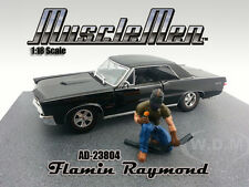 MUSCLEMEN FLAMIN RAYMOND FIGURE FOR 1:18 SCALE MODELS BY AMERICAN DIORAMA 23804
