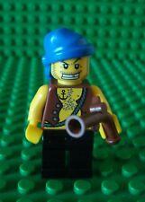 Lego Pirate minifig with brown vest gun 6243 6241 6253 pirates bandana