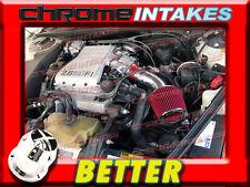 CF RED 88 89 90 91 92-94 CHEVY CAVALIER Z24 2.8 2.8L/3.1 3.1L V6 AIR INTAKE KIT