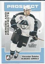 2006-07 ITG Heroes & Prospects ALEXANDER RADULOV #161 Montreal Canadiens