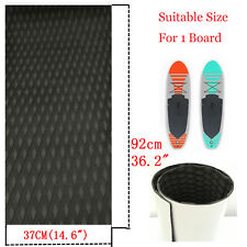 Surfboard Traction Pad Deck Grip Mat For Surfing SUP Paddleboard  Black Diamond