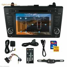 "CAMERA+7"" 2 Din Stereo Car DVD Player GPS Radio 3D BT TV for Nissan Altima 09~11"