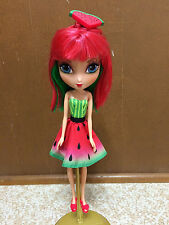 La Dee Da Juicy Crush Fashion Doll Watermelon Mist Dress Shoe Red Green Hair