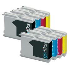 8 Cartuchos de tinta (Set) para Brother DCP-135C DCP-150C DCP-153C MFC-5860CN