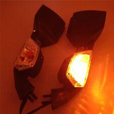 Left Right Mirrors with Turn Signal Light Kawasaki Ninja ZX 10R 08-10 ZX10R