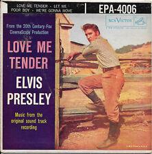 ELVIS PRESLEY Love Me Tender on RCA EPA-4006 rock EP 45