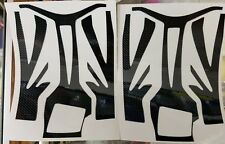 RTR Cheetah Aeolos chassis decals-Black Stripes