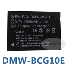 DMW-BCG10E Battery for Panasonic Lumix DMC-TZ30 TZ35 TZ20 TZ18 ZS20 ZS15