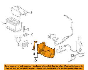 GM OEM-Battery Tray 23128537