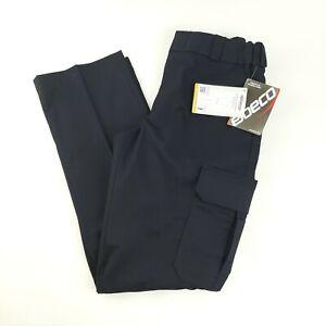 New Elbeco Women's Uniform Pants Size 10 Dark Navy TexTrop Flat Front E2854LC